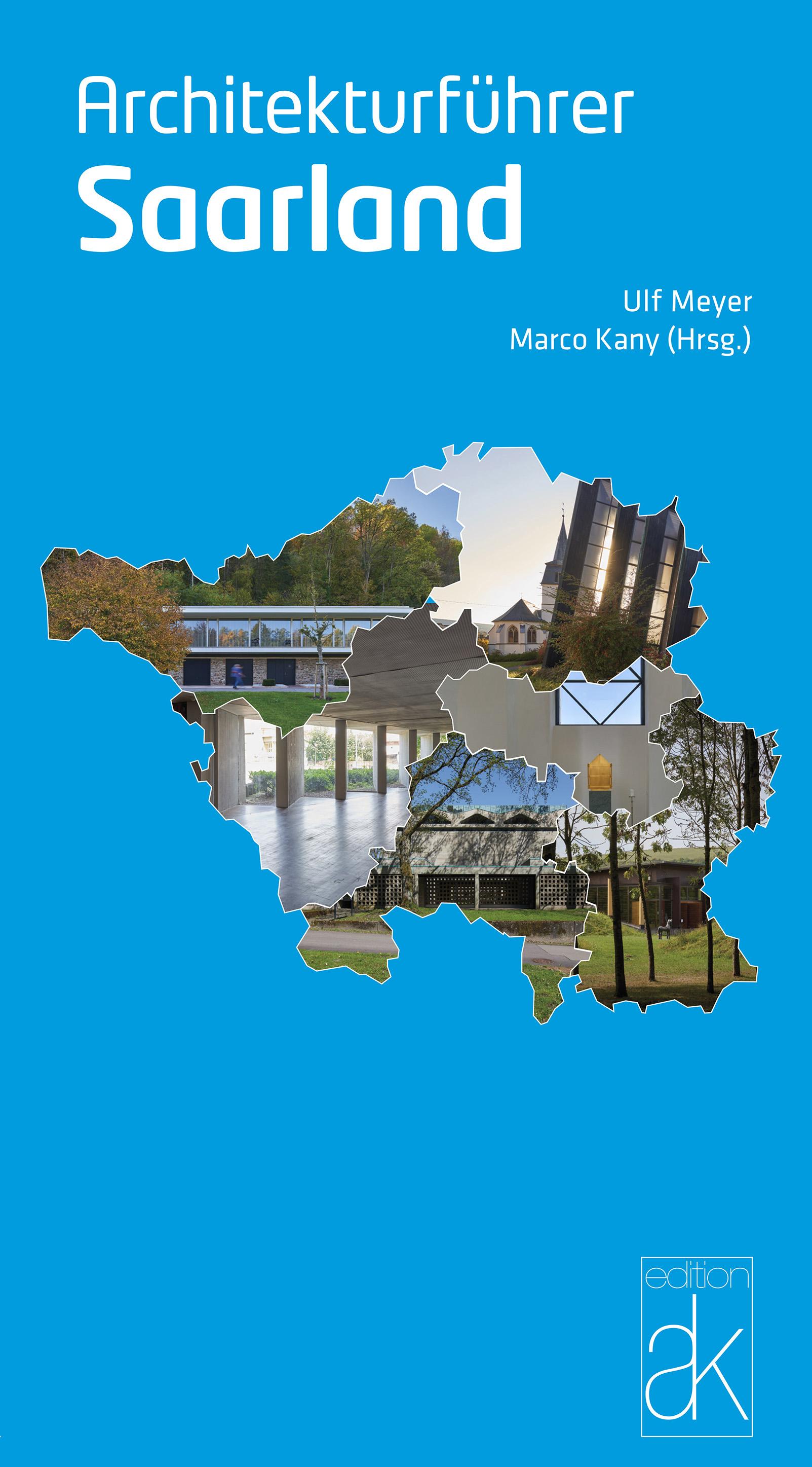 Titel »Architekturführer Saarland«