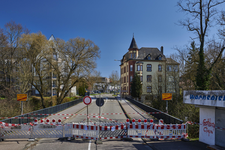 deutsch-französische Grenze, Rilchingen-Hanweiler/Sarreguemines