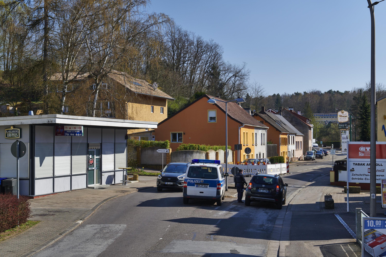 deutsch-französische Grenze, Saarbrücken Gersweiler/Schoeneck