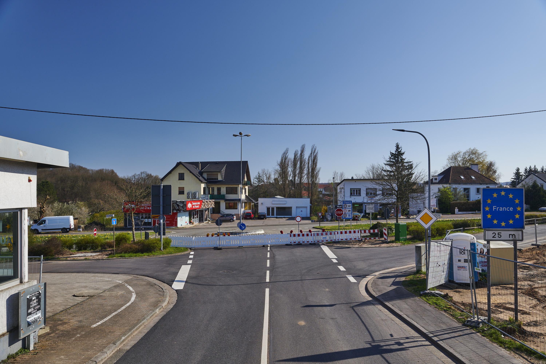 deutsch-französische Grenze, Naßweiler/Rosbruck