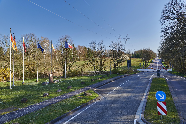deutsch-französische Grenze, ܜberherrn/Creutzwald