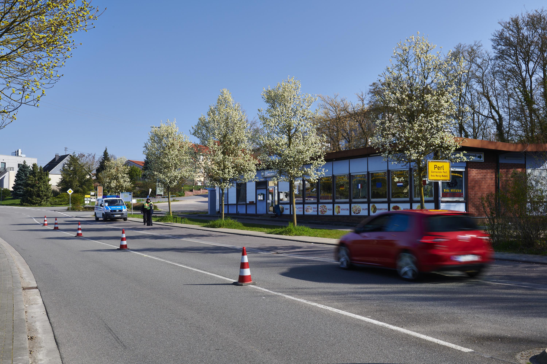 deutsch-französisch-luxemburgische Grenze, Perl/Apach/Schengen