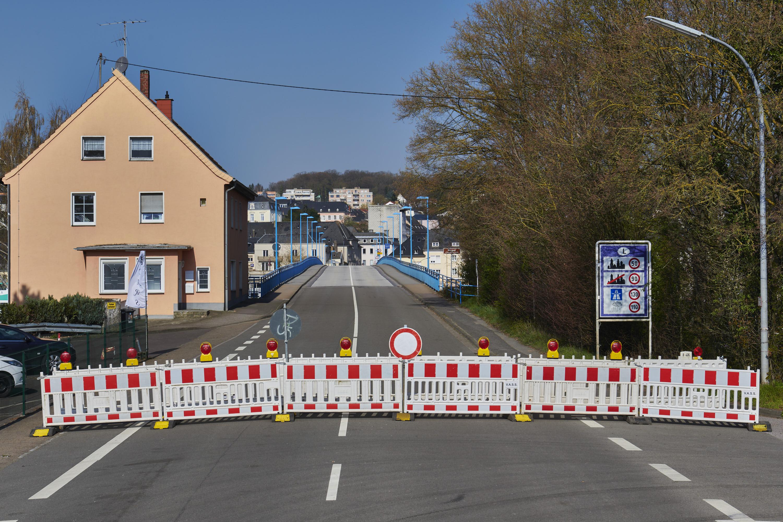 deutsch-luxemburgische Grenze, Nennig/Remich