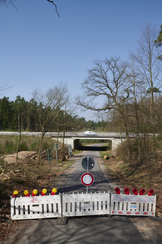 deutsch-französische Grenze, Lauterbach/Creutzwald