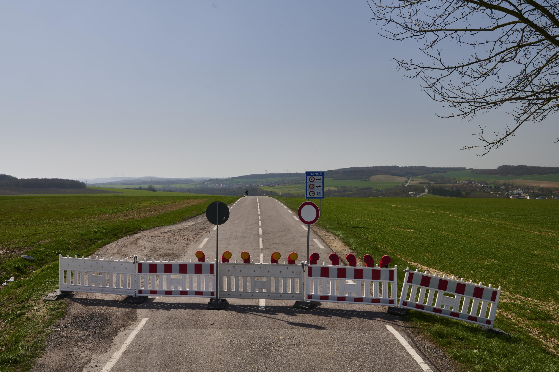 deutsch-französische Grenze, Ittersdorf/Villing