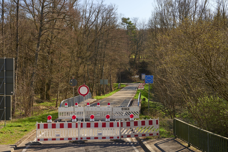 deutsch-französische Grenze, Brenschelbach/Schweyen