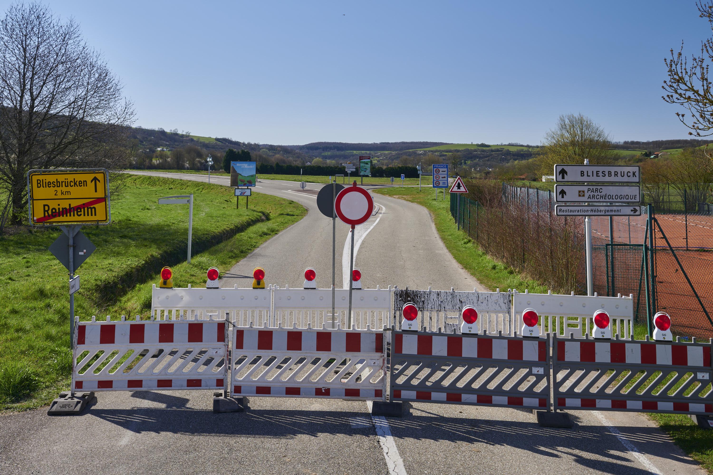 deutsch-französische Grenze, Reinheim/Bliesbruck