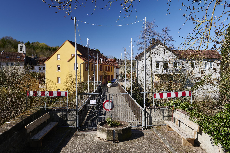 deutsch-französische Grenze, Habkirchen/Frauenberg