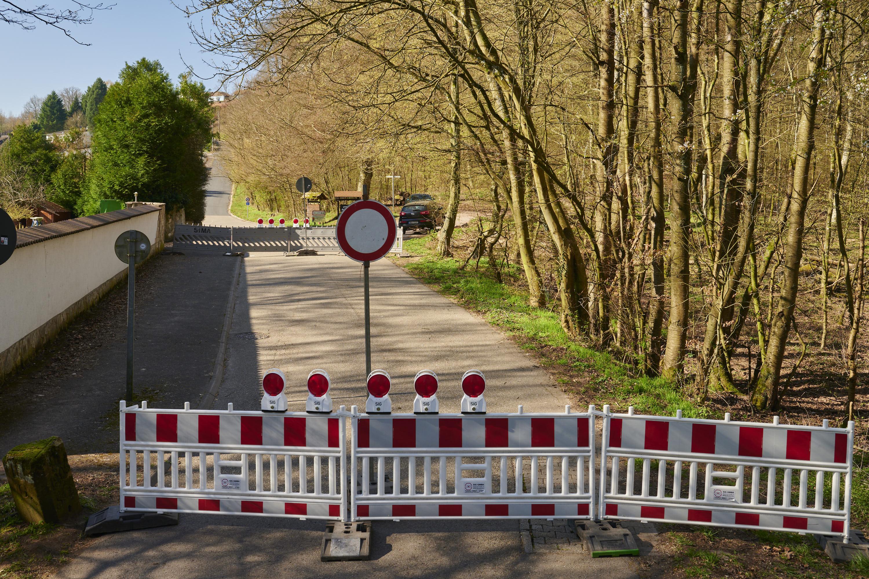 deutsch-französische Grenze, Güdingen/Alsting