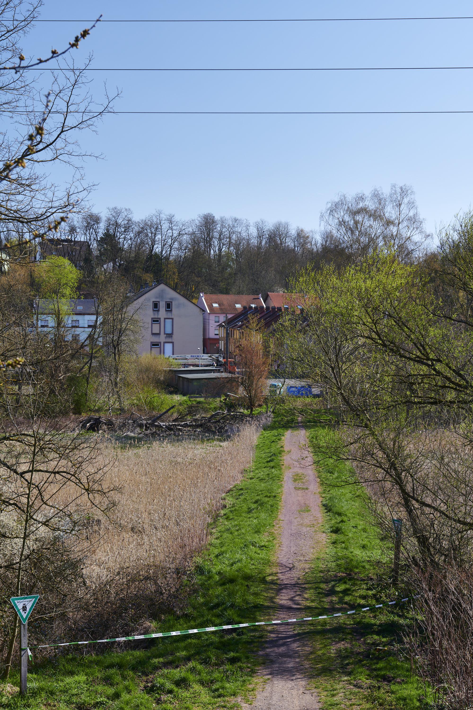 deutsch-französische Grenze, Großrosseln/Petite-Rosselle