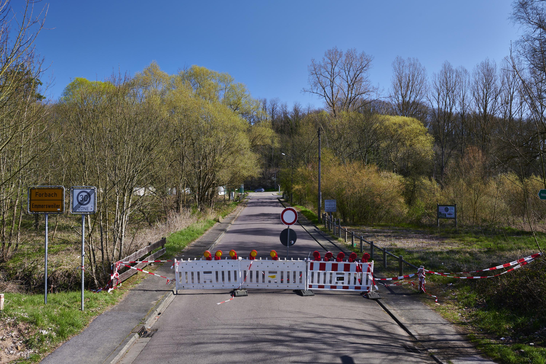 deutsch-französische Grenze, Emmersweiler/Forbach