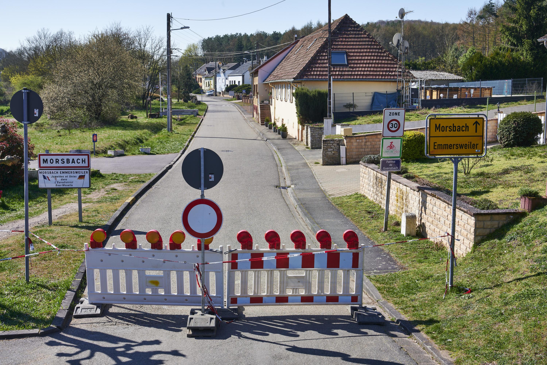 deutsch-französische Grenze, Emmersweiler/Morsbach