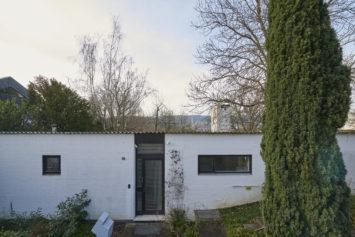 Architekturfotografie von Marco Kany: ehemaliges Haus Krajewski in Saarbrücken