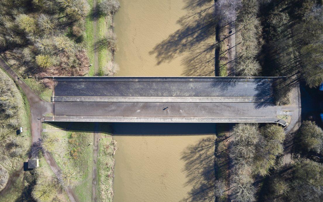 Dokumentationsfotografie von Marco Kany: »Tote Brücke« in Saarbrücken St. Arnual