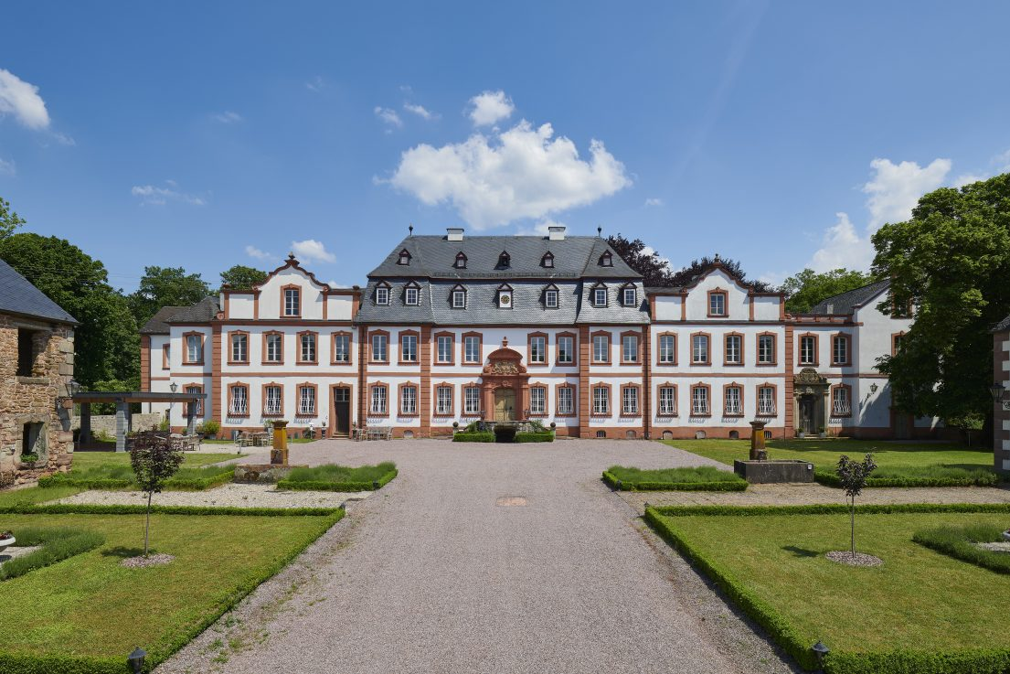Architekturfotografie von Marco Kany: Schloss Münchweiler, Nunkirchen